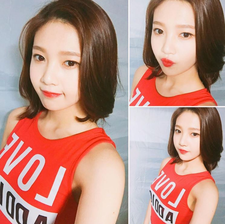 另外當天的髮型不是前陣子Joy得到許多好評的短髮造型,而是以長髮造型亮相?!一起來看看當時的照片吧~~~