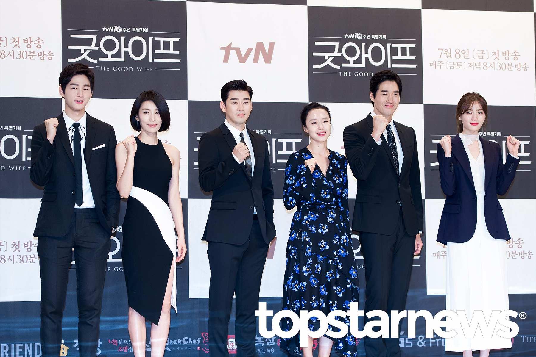世界最美Nana和實力派演員劉智泰、全道嬿合作,在韓國收視也不錯的《Good Wife》