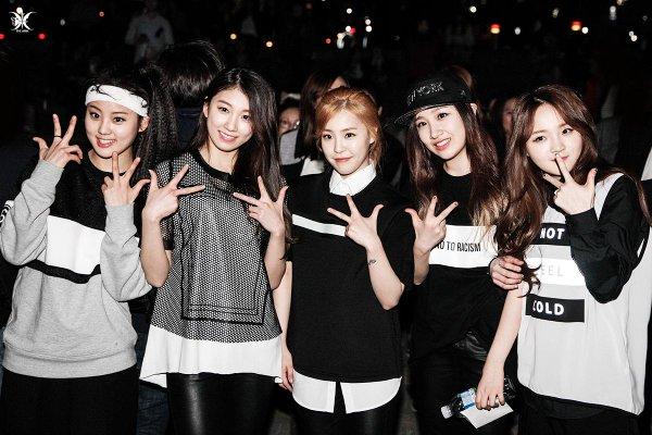 2015年4月12日以專輯《The Light》出道的Music K Entertainment所屬五人女團The Ark
