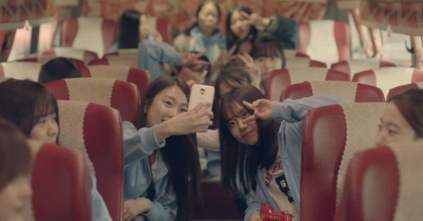 透過《Super star K》第三季初露鋒芒Yuna、《KPOP STAR 2》Min Ju也都在這個團體中~I.O.I的素慧還有拍過The Ark <The Light>的MV~