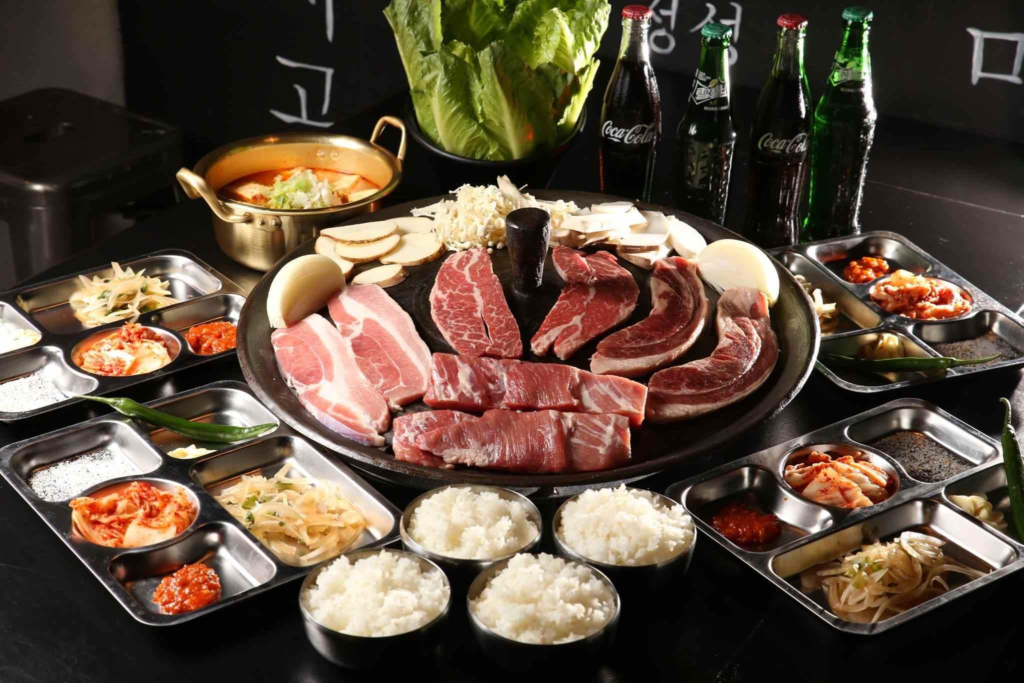 △三角三韓國道地烤肉 地址:台北市萬華區武昌街二段91巷10號