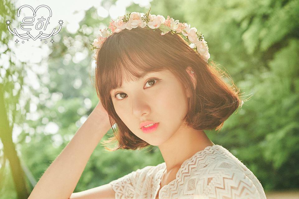 GFRIEND Eunha 說到短髮就不能不提到Eunha的短髮!短髮的Eunha多勒一點空靈少女的氣息呢!