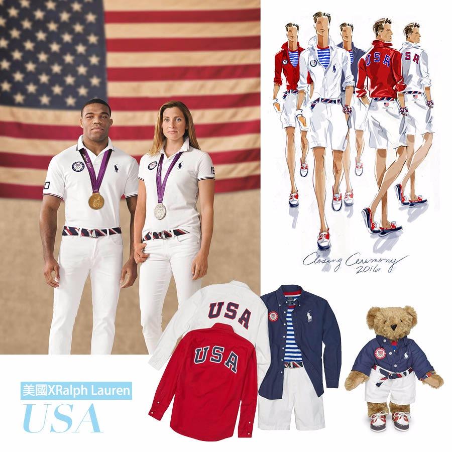雖然是代表隊制服,但以平時也能穿出門的親民設計,早在去年四月就以Ralph LaurenX奧運聯名系列為名在市場上販售,讓國民在觀賽之餘也能穿上和代表隊一樣的衣服共襄盛舉。