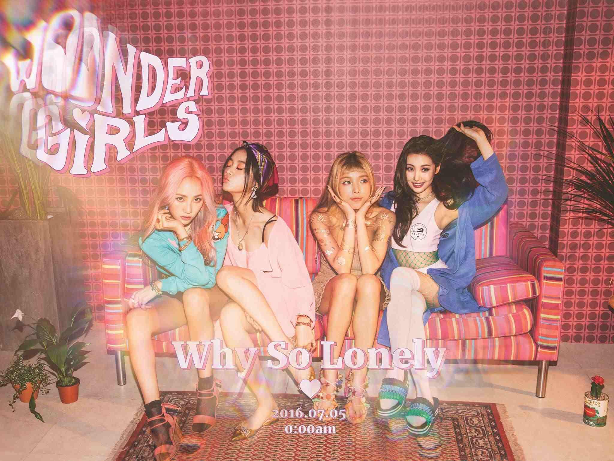 先不說這次出片,連成員都開玩笑被更視《姐姐們的灌籃秀》的JYP給放生,Wonder girls出道至今的過程本身就很心酸~