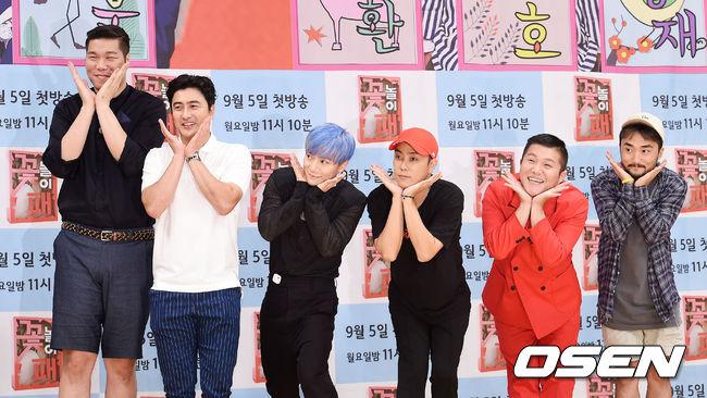 《Flower Crew (꽃놀이패)》作為YG首次與電視台製作的綜藝節目...很多粉絲會疑問...為甚麼是這個節目..YG關係者表示「一切都是因為劉炳才~~」