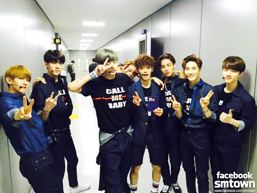EXO-SUHO 總是給人王子般感受的Suho其實和成員互動時非常搞笑,還被稱為「EXO最搞笑」成員,不過上了節目之後卻常被認為沒有綜藝效果,金九拉先前還曾開玩笑說別發Suho的通告