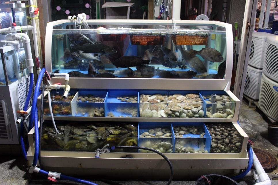 重點是店內提供各式各樣的貝類,不同的口感與香味,也有各種不同的料理方式可供選擇!