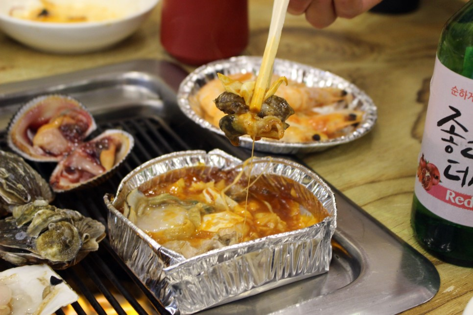 起司加上貝類的鮮味,一個人就可以吃掉兩大盤啊!